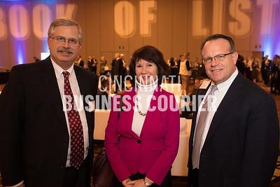 Frank Panzeca, Margie Alf and Doug Michel of Clark Schaefer Hackett