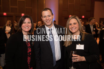 Laura Metzler and Alicia Lehnert of American Cancer Society and Chris Linck of BKD, LLP