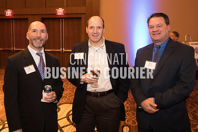 Sam DeBonis of Park National Bank, Jef Baumgarth of The Myer Y. Cooper Company and Dave Wolfer of GBQ Partners LLC