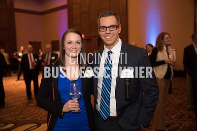 Becky Chalou and Ryan Minton of Cincinnati Marriott North