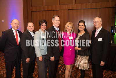 Tom Cooney of Mountjoy Chilton Medley, Mike Gentry of MCM CPA's and Advisors, Crystal Faulkner of Mountjoy Chilton Medley, Geri Hernandez of Macy's Inc.  and Don Feldmann of Union Institute & University