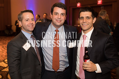 Adam Morton of River Point Capital Management, Kevin Hoskins of DBL Law and Brad Daugherty of GBQ Partners LLC