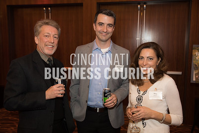 Jeff Pearson of Platte Architecture + Design, Zachary Zettler of GBBN Architects and Meg Keim of CR Architecture + Design