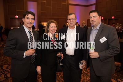 Chris Zehetmaier and Allyson Bosse of Fort Washington Investment Advisors, Dave Hartig and JAson Boehm of Angus Group LLC