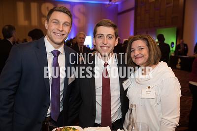 Tyler Blau and Chadwick Meade of Deloitte and Karen Miles of American Savings Bank FSB