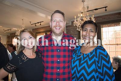 Courtney Rawlins, Tony Rahn, & Erica Backus, Hosts