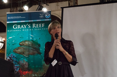 Sarah Fangman, Superintendent of NOAA Gray's Reef National Marine Sanctuary