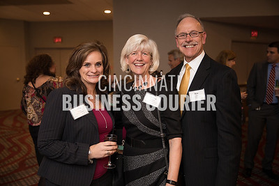 Debbie Potts w/ Fifth Third Bank, Marsha Croxton and Ken Croxton of St. Elizabeth Healthcare