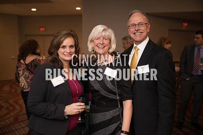 Debbie Potts w/ Fifth Third Bank, Marsha Croxton and Ken Croxton of St. Elizabeth Healthcare