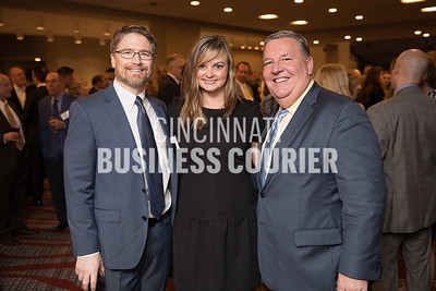 Dr. Michael Heile w/Family Medical Group, Theresa Diersen w/ Healthy Moms & Babes and Jamie Smith w/ Cincinnati Business Courier