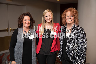 Barb Day, Kayla Kelly and Gayle Pollack with UC Health Hematology/Oncology