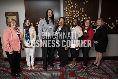 Sara Frazee, Dr. Mahwash Kamal, Bobby White, Andrea Hale, Benita Kerson-Florence, Jeannette Porter and Dr. Becky Lee all with University of Cincinnati Medical Center