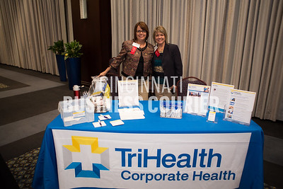 Alisa Lambert and Jackie Glaser with TriHealth Corporate Health