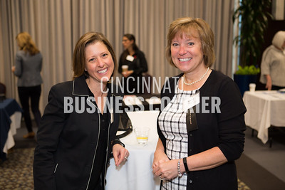 Stephanie Granat and Karen Maxwell with Cincinnati Eye Institute