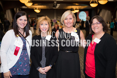 Elizabeth Ponzer, Linda Felix, Lori Slusser and Joan Lipinski with TriHealth Corporate Health