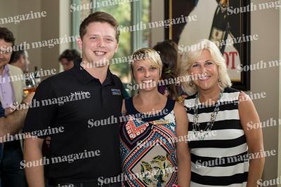 Dr. Kaleb Scroggin, Marcia Barnes, and Marianne Greer