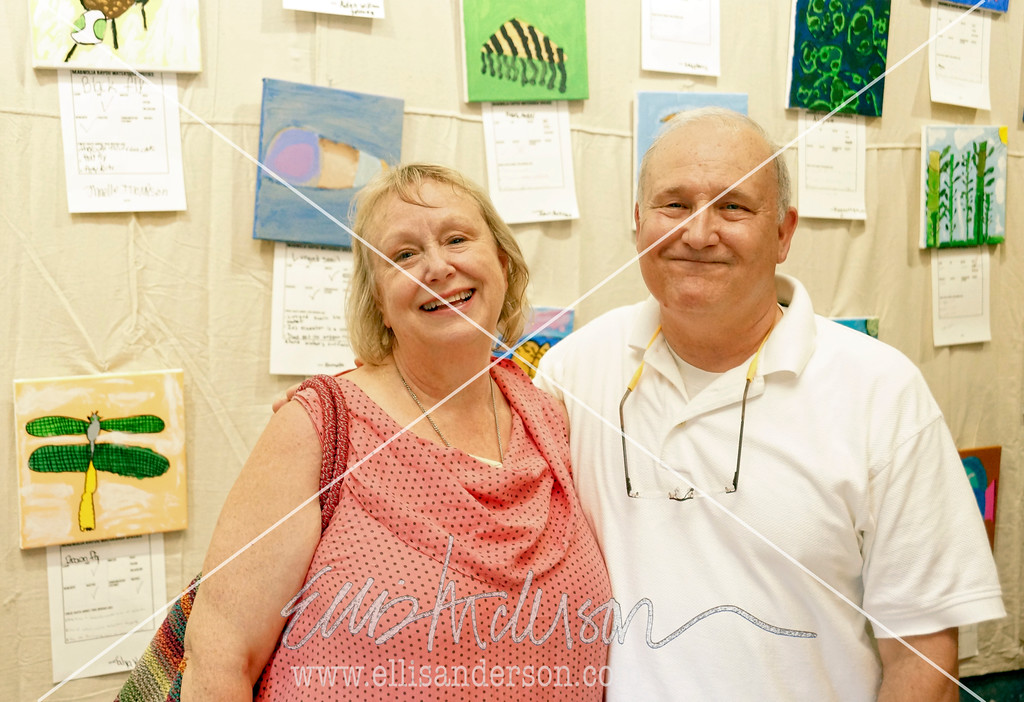 Artist Rosie Dumoulin and writer John Dumoulin