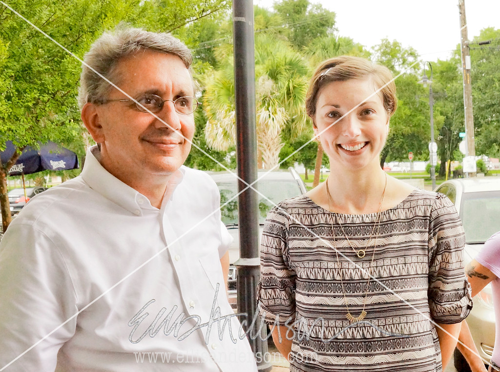 David Perkes, director, and Kelsey Johnson, community planner, both of Gulf Coast Community Design Studio.