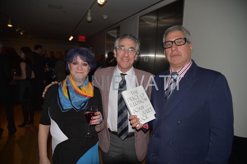 AWA_8467 Laurie Rosenwald, Ira Silverberg, Bob Morris