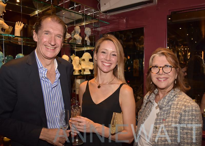 AWA_6813 Marc de Gontaut Biron, Kelly DeMeester, Odile de Schiétère-Longchampt (NY Chapter Chairman)
