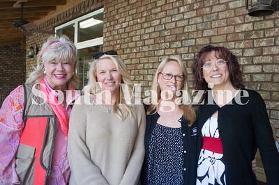 Lisa Roberson, Volunteer, Louise Modell, Leslie Eatherly, and Angela Jaqua, Volunteer