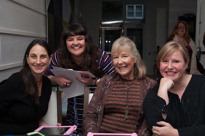 Michelle Solomon, Executive Director Molly Leberman, Fran Galloway, & Anne Robinson