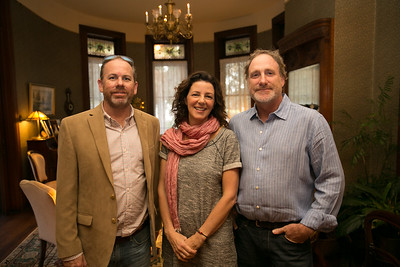 Chris Kolb (Mountainfilm Charleston), Sage Martin (Mountainfilm Savannah), Chris Hanson (Mountainfilm Charleston)