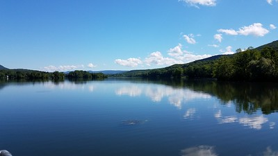 lake at Ashuwillticook Rail Trail, MA