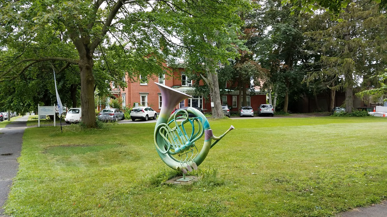 lawn sculpture, Pittsfield, MA