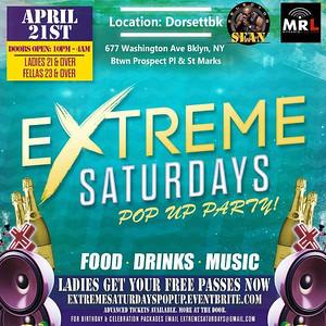 04/21/18 Extreme Saturdays Pop Up Edition