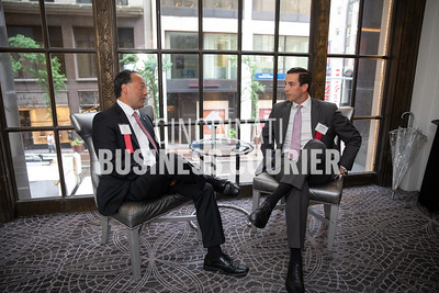 Mel Rodriguez and Brandon Hutchison w/Merrill Lynch