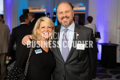 Kelly Snyder Cincinnati Business Courier and Matt Jauchius w/ Fith Third Bank