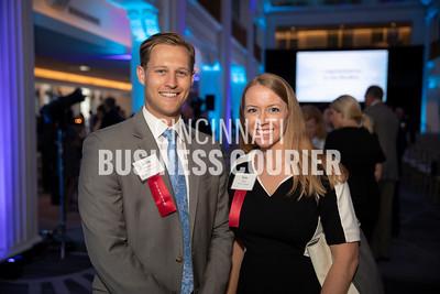 Kevin Donnelly and Kim Harp w/REDI Cincinnati