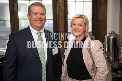 Brian Strautberg w/Cassady Schiller CPAs & Advisors and Brenda Hoernschemeyer w/Bailey & Company Benafits Group