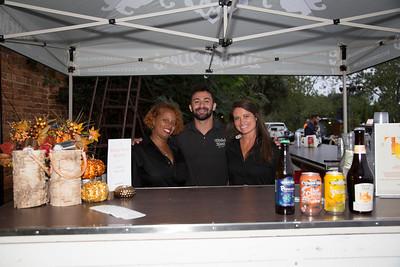 Latecia Watley, Samer Sabbagh, Jade Aaron (Wicked Weed Brewery)