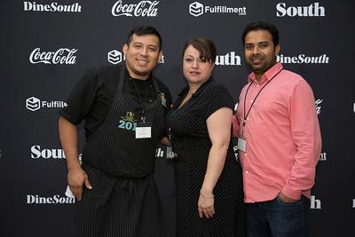 Sandy, Kaisa, Chef Jose (201 Seafood)