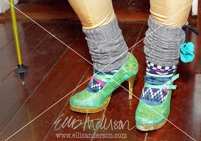 """Denali Dolly"" shoes by Micky Arnold"