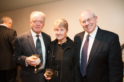 Michael Siegel, Eileen and Denis Healy