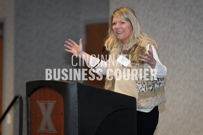 Kristen Schlotman, executive director of Film Cincinnati was the keynote speaker