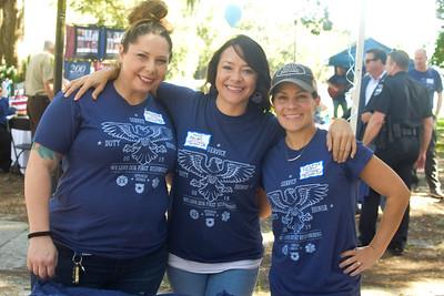 Michelle Day, Toni Robider, and Zuzana Dubois