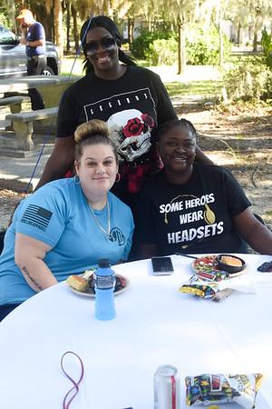 April Smith, Jodi Bolton, and Yolanda Howard