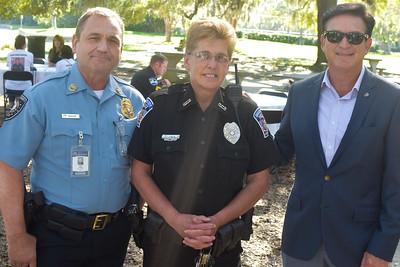 Tery Shoop, Barbara O'Neal, and Mark Dana