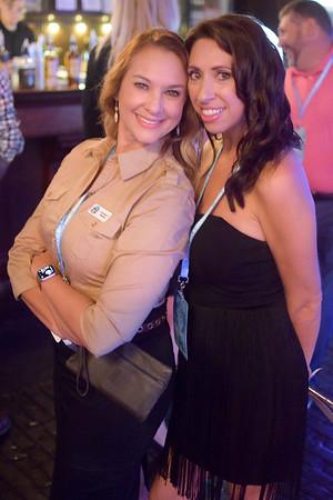 Courtney Rawlins and Jennifer Hagan