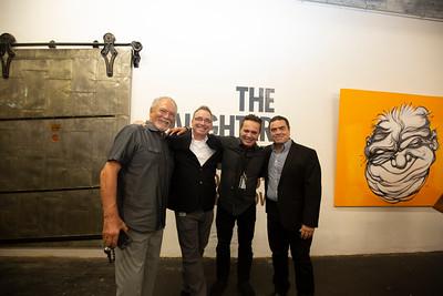 Steff Geissbuhler, Anthony Fisher, Fathi Bakkoush, Jore Montero