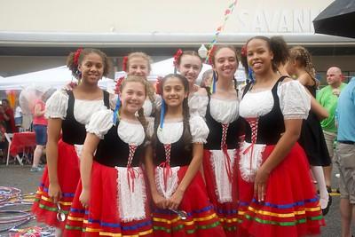 Caroline, Makenzie, Hannah, Isabella, Elana, Cristal, Sarah