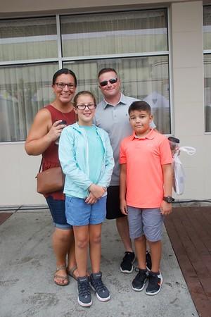 Ashley, David, Killian & Abigail Daniel