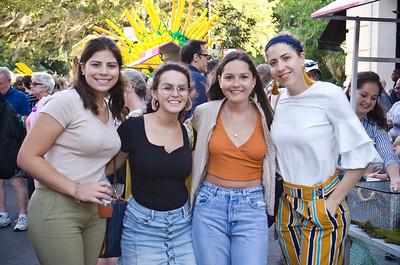Ana Valenzuela, Rebecca Balonza, Bernarda Barahona, Carmen Maria Ponce