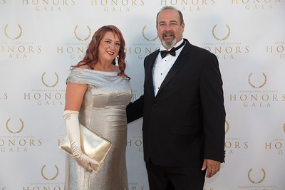 Maira Sheehan and Buck Meeks
