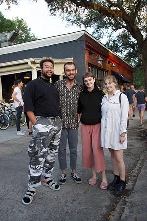 Evan, George, Taylor, Courtney Gunn