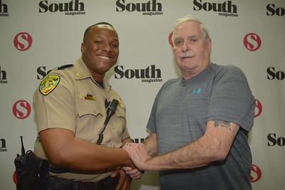 Cpl. Ricky White, Sheriff John Wilcher